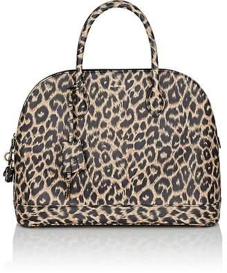 Balenciaga Women's Ville Medium Leather Bowling Bag