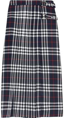 Burberry Tartan Wool Kilt