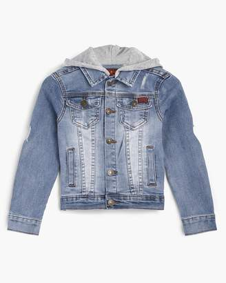 7 For All Mankind Boy's 4-7 Denim Jacket in Tribecca