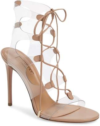 63a18a872da Aquazzura Lace Up Women s Sandals - ShopStyle