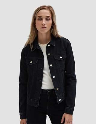 Need Denim Jacket in Broken Black