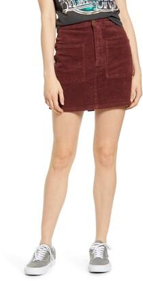 Billabong Magic Touch Corduroy Miniskirt