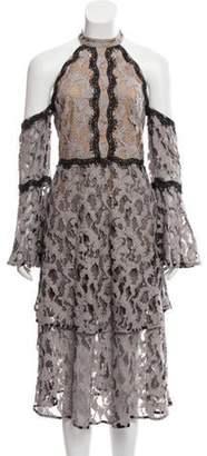 Talulah Off-The-Shoulder Genre Halter Dress w/ Tags Off-The-Shoulder Genre Halter Dress w/ Tags