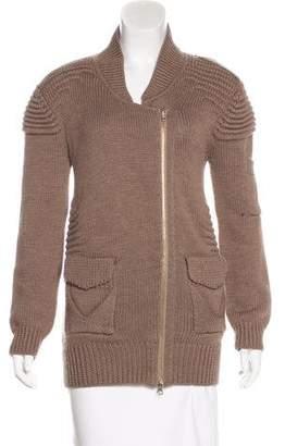 Zero Maria Cornejo Wool Zip-Up Sweater