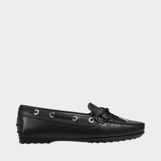 Tod's City logo loafers (rubber sole)