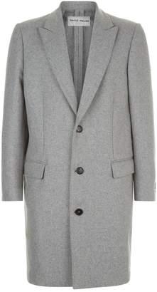 Privee Salle Wool Cashmere Overcoat