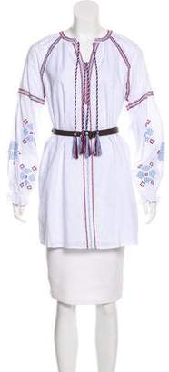 Endless Rose Embroidered Belted Tunic w/ Tags