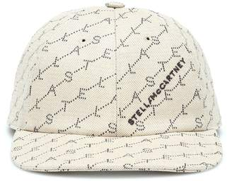 Stella McCartney Printed baseball cap