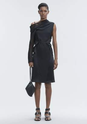 Alexander Wang SILK DRAPED DRESS