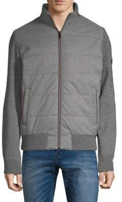 Bugatti Ribbed Quilted Jacket