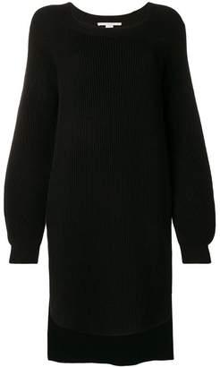 Stella McCartney side-slit oversized jumper