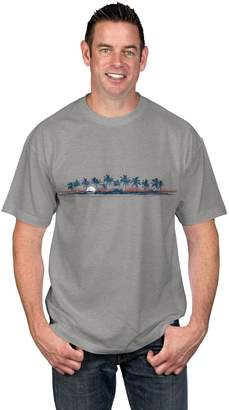 Newport Blue Big & Tall Tropical Graphic Tee