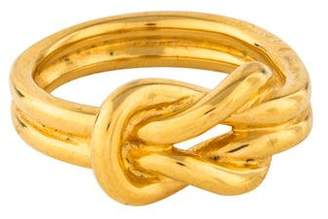 Hermes Knot Scarf Ring