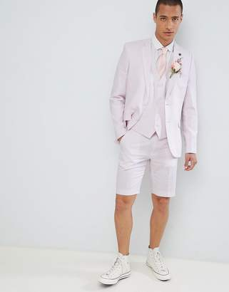 French Connection Wedding Linen Slim Fit Suit Jacket