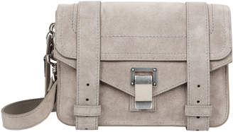 Proenza Schouler PS1 Mini Suede Grey Crossbody