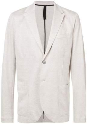 Harris Wharf London jersey double button blazer