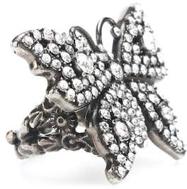 Gucci Crystal butterfly ring