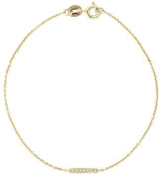 Dana Rebecca Designs 14K Yellow Gold Sylvie Rose Diamond Bar Station Bracelet $310 thestylecure.com