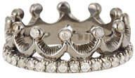 Loree Rodkin 18k White Gold Diamond Crown Ring