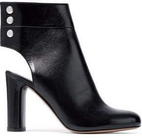 IRO Matyi Cutout Leather Ankle Boots