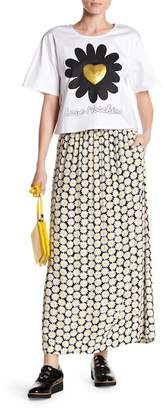 Love Moschino Floral Printed Maxi Skirt