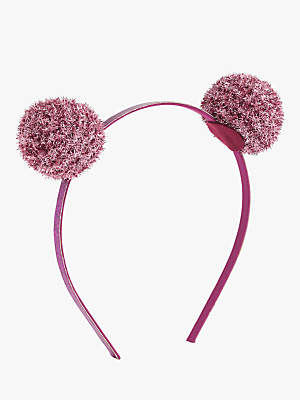 J.Crew crewcuts by Children's Glitter Pom Pom Headband