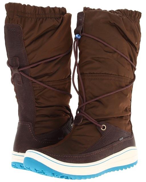 Ecco Trace High Cut (Coffee/Espresso) - Footwear