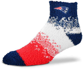 For Bare Feet New England Patriots Marquee Sleep Soft Socks