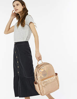Accessorize Roxie Holographic Dome Backpack