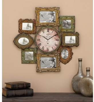 DAY Birger et Mikkelsen World Menagerie Shahid Metal Clock With Photo Frame
