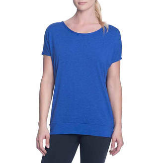 Gaiam Open Back Scoop Neck T-Shirt