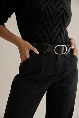 Country Road Oval Buckle Belt