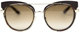 Etro Silver Metal Sunglasses