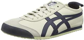 Onitsuka Tiger by Asics Onistuka Tiger Mexico 66, Unisex Adults' Low-Top Sneakers, White (Birch/India Ink/Latte - 1659), 6 UK ()