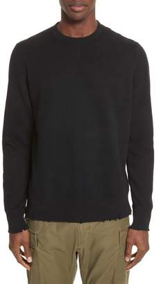 Ovadia & Sons Distressed Crewneck Sweatshirt