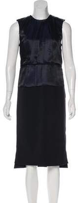 J Brand Sleeveless Midi Dress