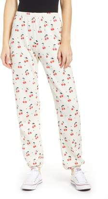 Wildfox Couture Cherry Oh Baby Easy Sweatpants