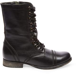 Steve Madden Stevemadden TROOPA BLACK LEATHER