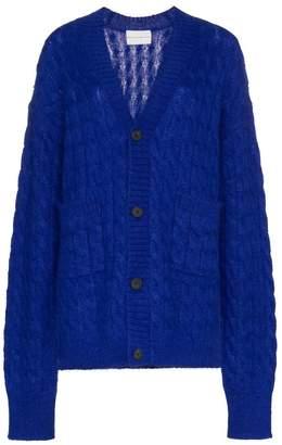 Matthew Adams Dolan oversized knitted cardigan