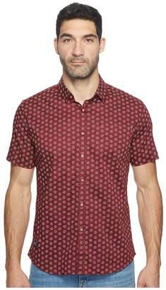 7 Diamonds Crystalfilm Short Sleeve Shirt Men's Short Sleeve Button Up