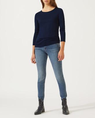 Jigsaw Pima Cotton Long Sleeve T-Shirt