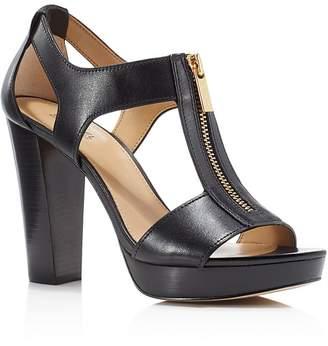 MICHAEL Michael Kors Berkley Zipper Platform High Heel Sandals