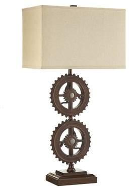 Mercury Row Brannum Metal Gears 32.5 Table Lamp