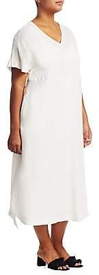 Marina Rinaldi Marina Rinaldi, Plus Size Marina Rinaldi, Plus Size Women's Dedicare Linen Dress