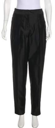 Bottega Veneta Mid-Rise Straight-Leg Pants