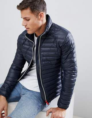Hunter mid layer padded jacket in navy