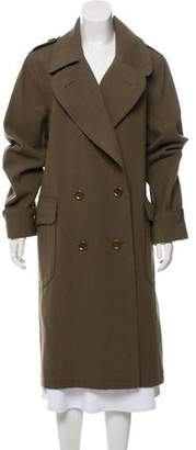Burberry Wool Double-Breasted Coat