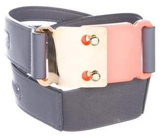 Lela Rose Leather Waist Belt
