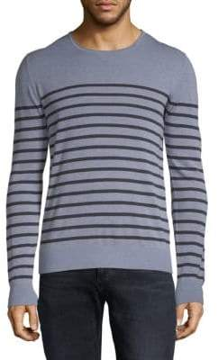 J. Lindeberg Striped Cotton Pullover