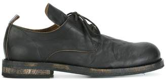 Ann Demeulemeester washed effect derby shoes